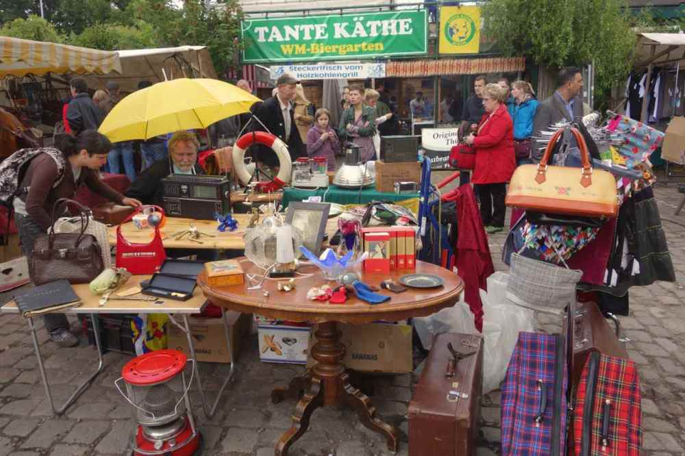 Flohmarkt Mauerpark, Berlin - 03